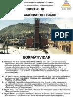 CLASE I- Proceso Contrataciones Del Estado
