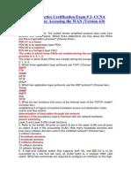 CCNA Practice Certification Exam 2
