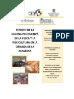Estudio de La Cadena Productiva de La Pesca y La Piscicultura en La Cienaga de La Zapatosa Cesar