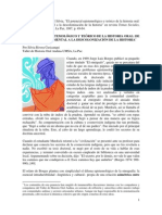 RIVERA CUSICANQUI Silvia - El Potencial Epistemológico y Teórico de La Historia Oral (1987)