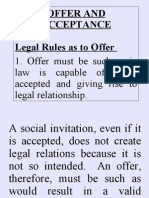 Offer and Acceptance (2)