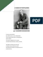 LaNubeEnPantalones_VladimirMaiakovski