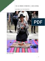 ARTEAGA Claudia y Gerardo MUÑOZ - La Disponibilidad de Lo Inédito. Entrevsita a Silvia Rivera Cusicanqui (Recorte, 2014)