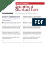 Signature Brochure Insert Church State