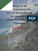 Caminos Primer Informe