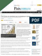 Crece Número de Colombianos Que Se Endeudan Por Vivienda