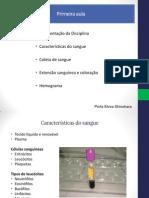 Coleta Extensão Sanguinea e Coloração 010313