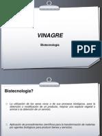 Biotecnologia y Vinagre