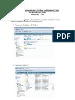 Guía de Instalación de MySabre en Windows Vista