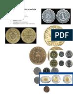 Monedas de Los Países de América Central