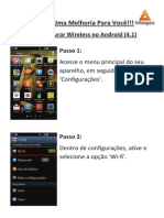 Configura Wi-fi Android 4.x