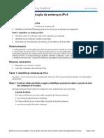 8.1.4.8 Lab - Identifying IPv4 Addresses