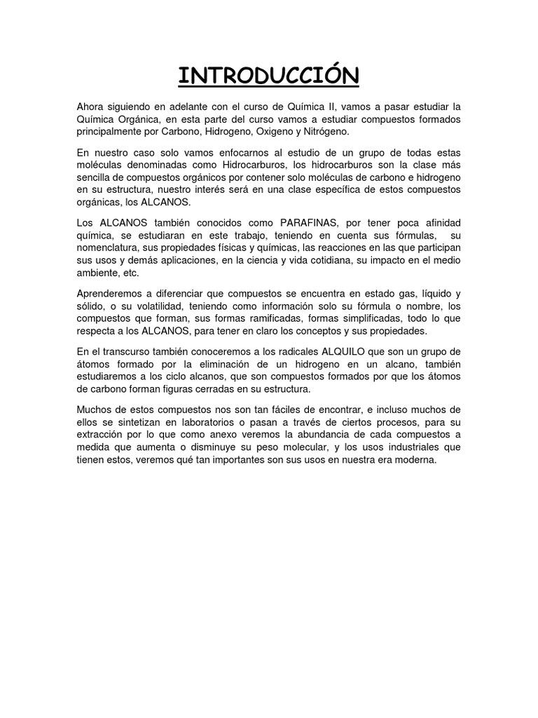Excelente Cicloalcanos Hoja De Trabajo Composición - hojas de ...