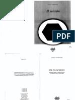 Durkheim - El Suicidio PAG 69-108