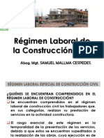 Regimen Especial de Construccion Civil i
