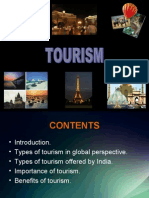 • • • • • Introduction. Types of Tourism In
