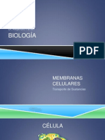 Clase 2-Membrana Celular