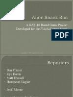 Alien Snack Run
