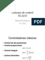 Sistemas de Control, Clase 15