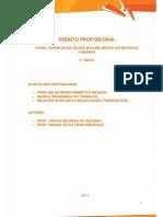 DESAFIO PROFISSIONAL Online 2014 1 TRH2 Tec Recrut Sel Saude e Seg Trab Rel Sind e Neg Trab