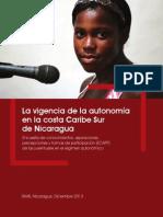 Costa Atlántica-Vigencia Autonomía Costa Caribe RAAS-AIR-USAID-Dic2013