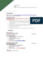 Industrial Electriciaen CV