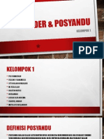 Kader & Posyandu