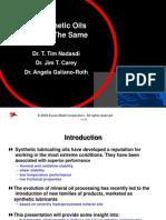 X - All Nadasdi1 - Synthetics Are Not the Same Presentation