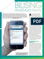 Check in Magazine Mobile Check In