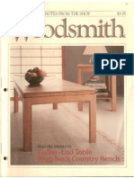 Woodsmith - Coffee End Table
