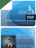 Portafolio de Servicios Advise 2014