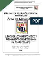 Proyecto Mate Juegos Matematicos Palitos de Fosforo 2014 Ed c1