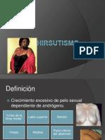 Hirsutism o