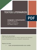 Textos Literarios Abril Sexto