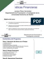Tema IV Operaciones Financieras Compuestas