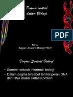 Dogma Sentral Dalam Biologi Kuliah23 Oktober