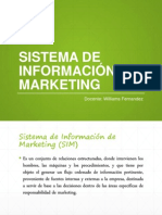Sistema de Información de Marketing