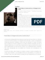 Revista Observaciones Filosóficas - Francis Bacon; La Deriva Del Yo y El Desgarro de La Carne