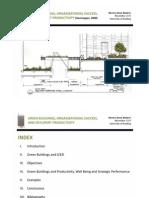 Green Buildings, Organizational Success, And Occupant Productivity (Heerwagen, 2000)