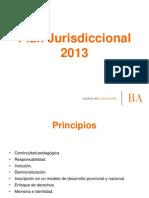 Plan Jurisdiccional 2013