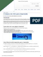 Basico Css Impressao-Infowester