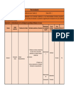 (Agenda) Plan de Negocios