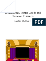 4 Externalities, Public Good and Common Resources