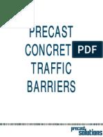 Precast Traffic Barriers