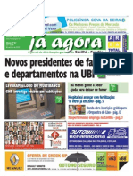 Já Agora, o jornal gratuito da Covilhã e Fundão, nº 67