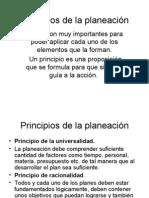 Principios de la planeación