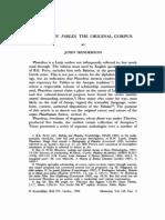 Henderson J - 1999 - Phaedrus' Fables the Original Corpus