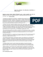 Consumo Menor e Dissipação Do Choque de Alimentos Desinflam o IPCA-15