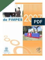 Revista de la Comisión de Investigación de FIMPES 2007