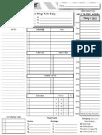 mk daily plan sheet
